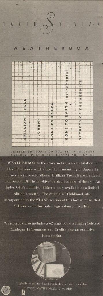 Weatherbox advert