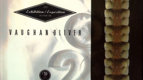 Vaughan Oliver- Exhibition/Exposition (First edition)