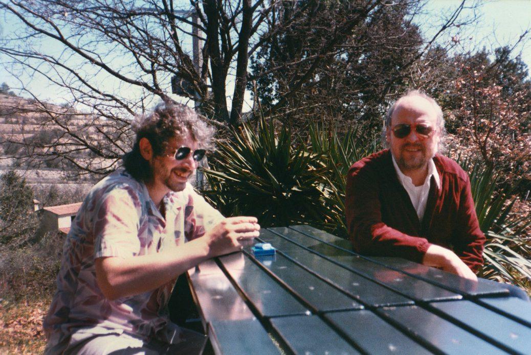 Steve Nye (left) and Danny Thompson