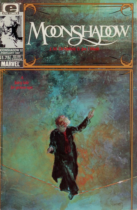 Moonshadow #12 (Marvel EPIC 1987)