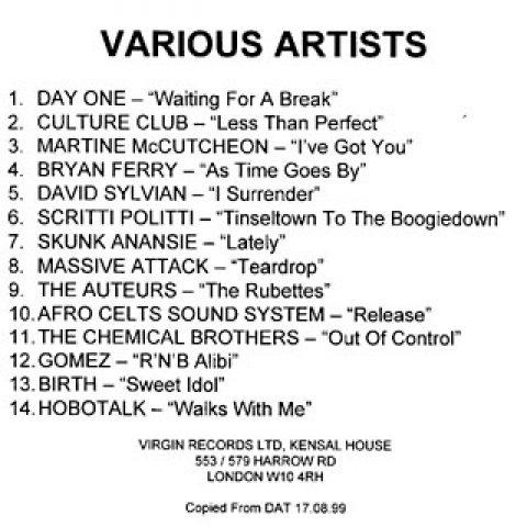 Virgin inhouse compilation
