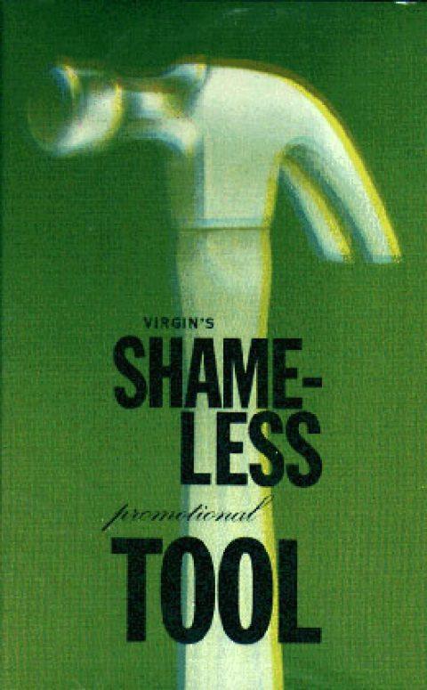 Virgin Shameless Promotional Tool cassette