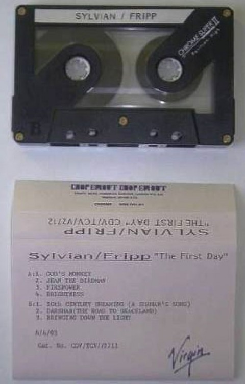 The First Day (UK cassette)