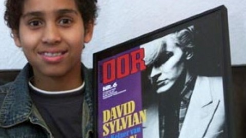 In Jacir (12) heeft David Sylvian zijn grootste Nederlandse fan