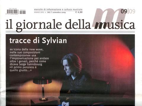 Sylvian l'improvvisatore (Italy, Il Giornale della Musica, September 2009)