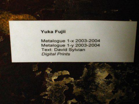 Yuka Fujii – exhibition 'Minus One'