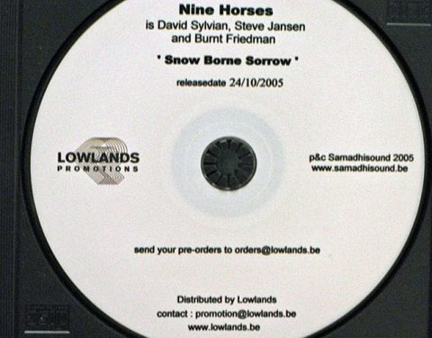 Nine Horses – Snow Borne Sorrow (Belgium advanced promo)