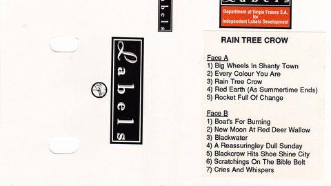 Rain Tree Crow (promo cassette France)