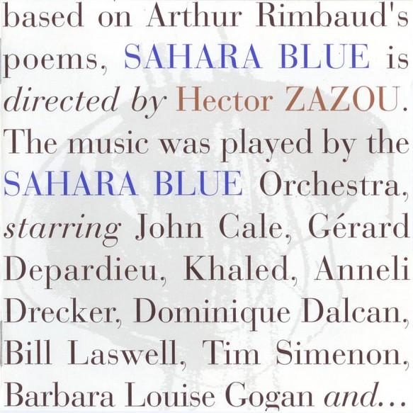 Sahara Blue 1st ed. - front