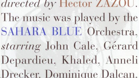 Hector Zazou – Sahara Blue (2nd edition)