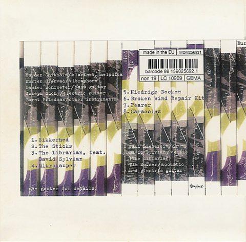 The Librarian (vinyl version) on new Friedman/Liebezeit