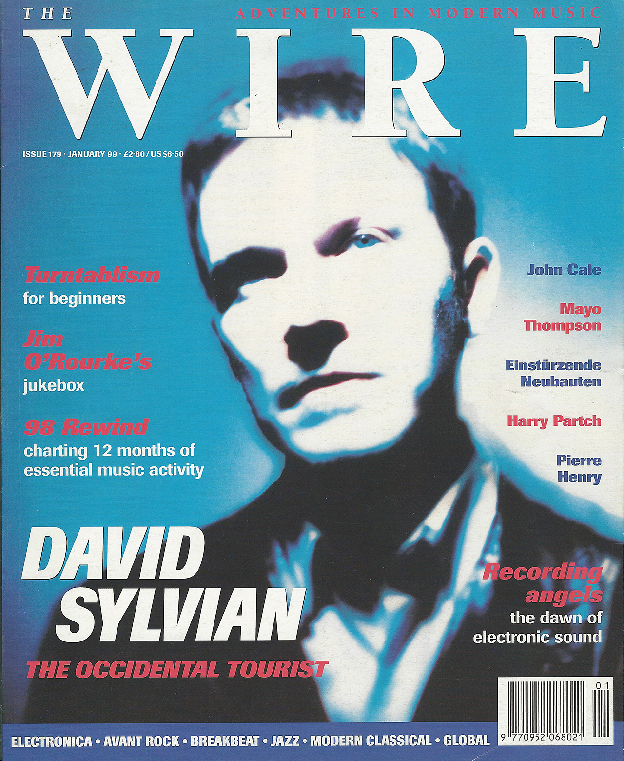 Voice Of The Beehive (Wire january 1999) - David Sylvian : Expect ...