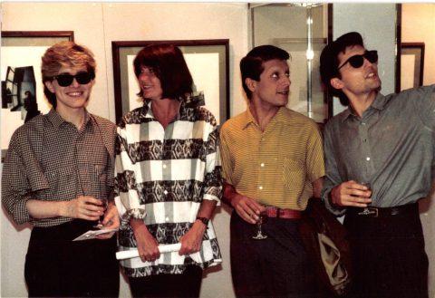 Polaroid Exhibition, Hamilton Gallery 1984