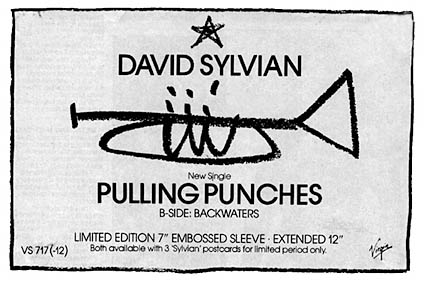 ad for Pulling Punches ad