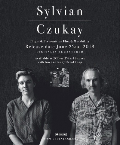 Wire July 2018 Sylvian Czukay ad for Plight & Premonition
