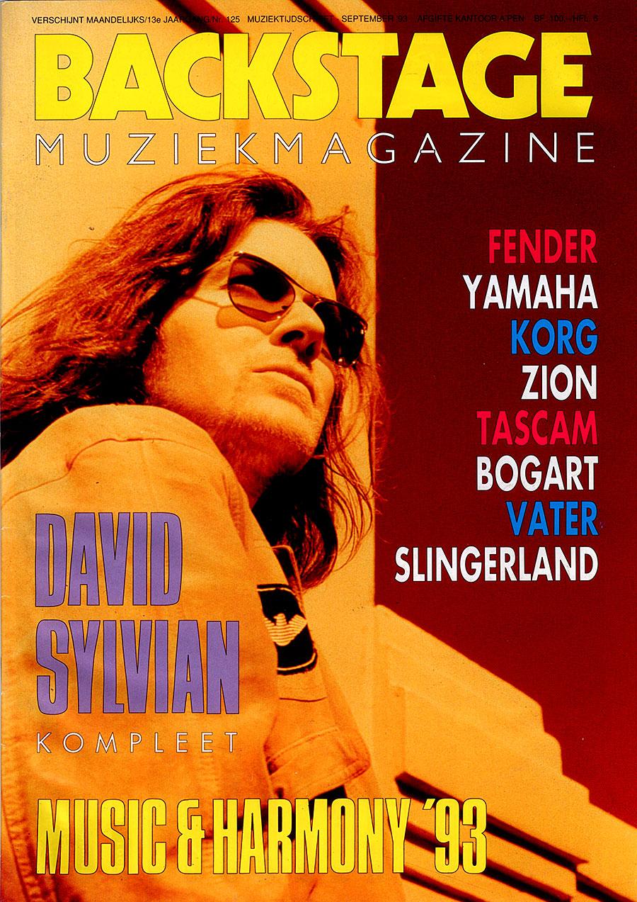 Backstage Muziekmagazine 09-1993 front