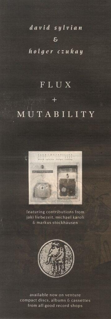 Flux & Mutability advert