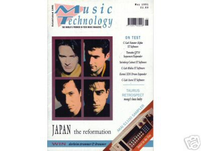 Music Technology - features seperate interviews with the members of Rain Tree Crow
