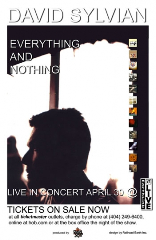 Poster for the cancelled concert in Atlanta, April 30 2002 at the Earthlink Live--Poster by Paul Jorgensen