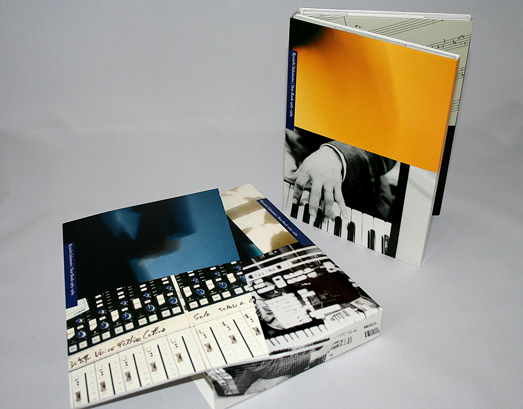 Ryuichi Sakamoto - Year Book 1985-1989 6 panel slipcase in box plus 52 page booklet