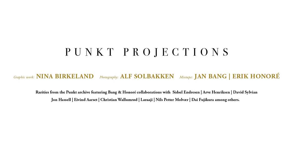 Punkt Projections banner