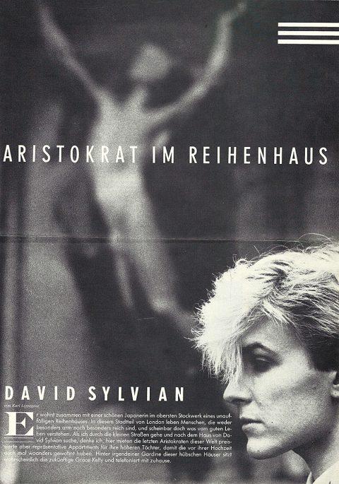 Aristokrat Im Reihenhaus (SPEX Music zur Zeit, July 1984)