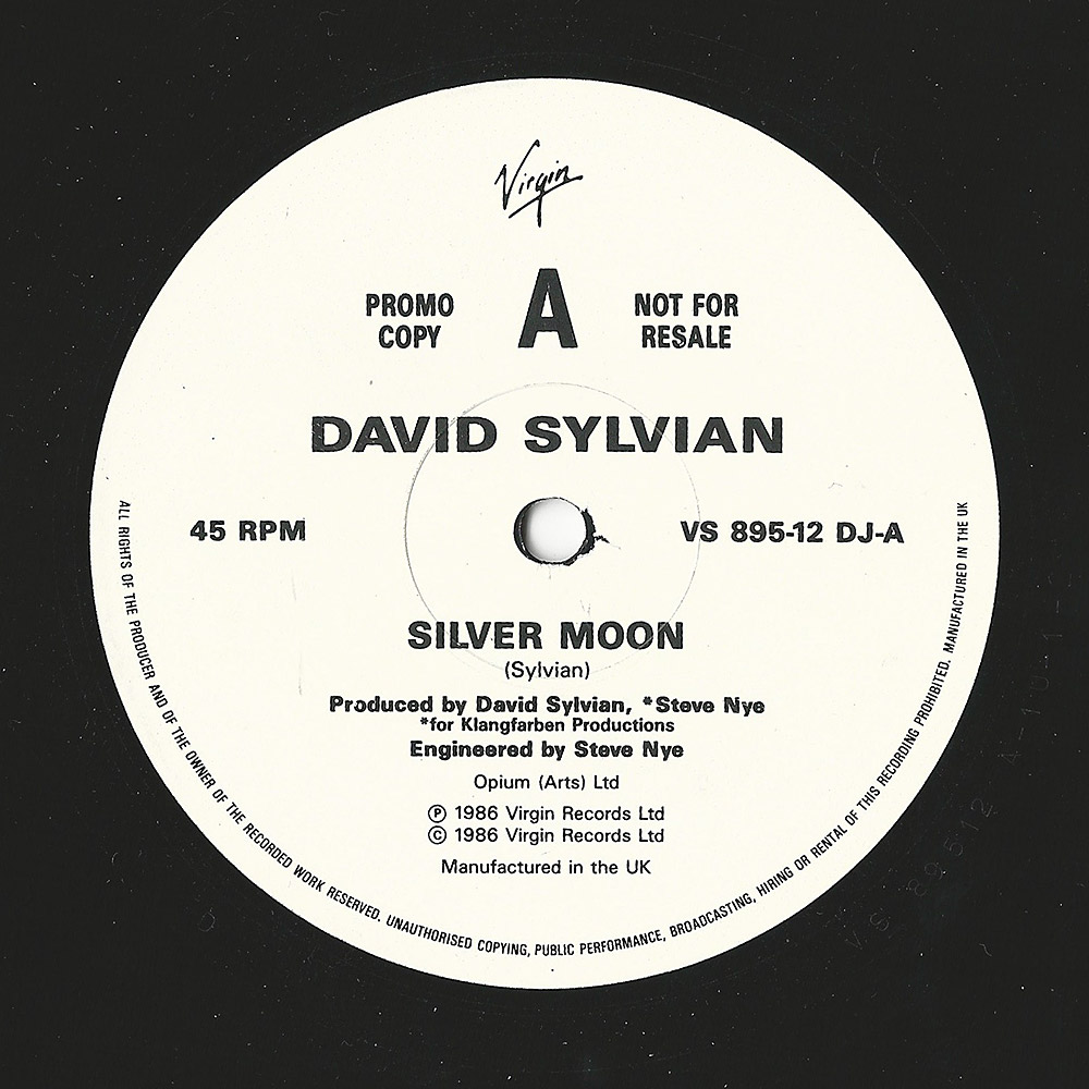 "Silver Moon 12"" promo side A"