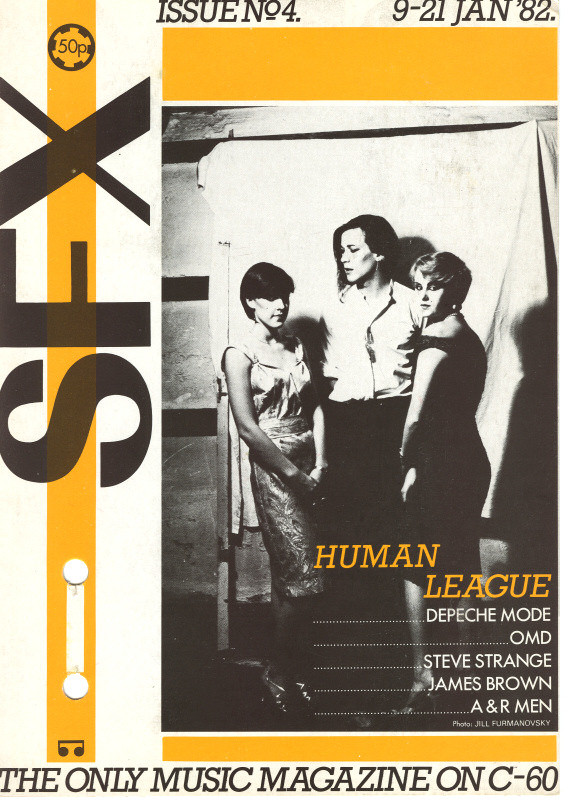 SFX-4 1981 Cover front