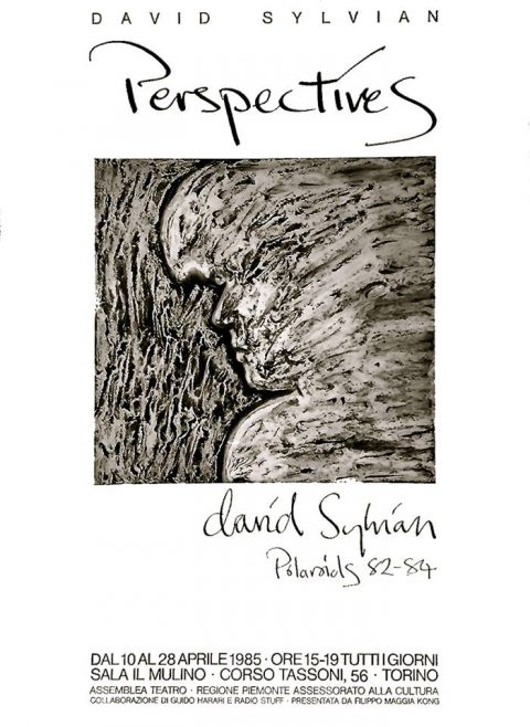 Perspectives, Polaroid exhibition, Turin 1985