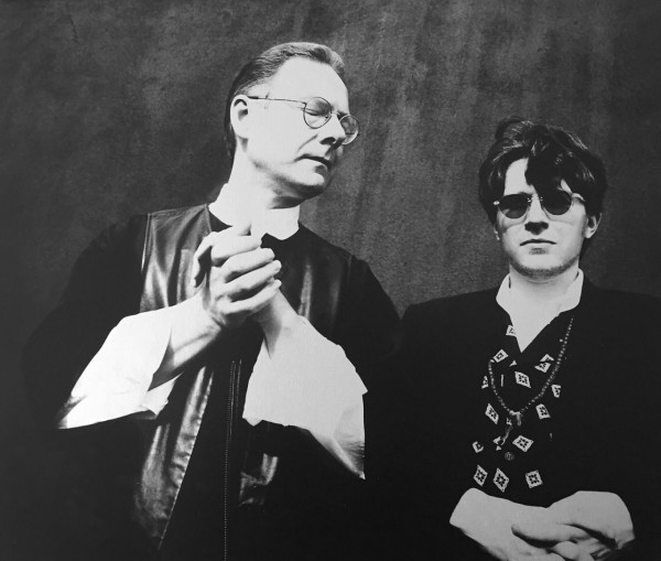 Robert Fripp and David Sylvian