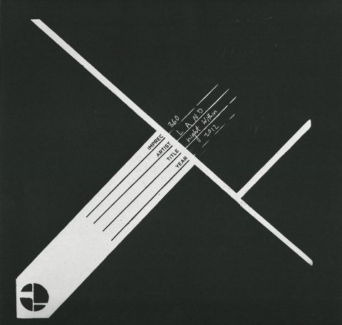 L A N D – Night Within (vinyl test pressing)