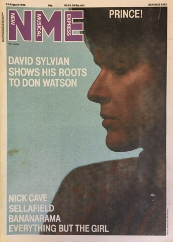 NME- 23 August 1986 New Musical Express UK - 23 August 1986