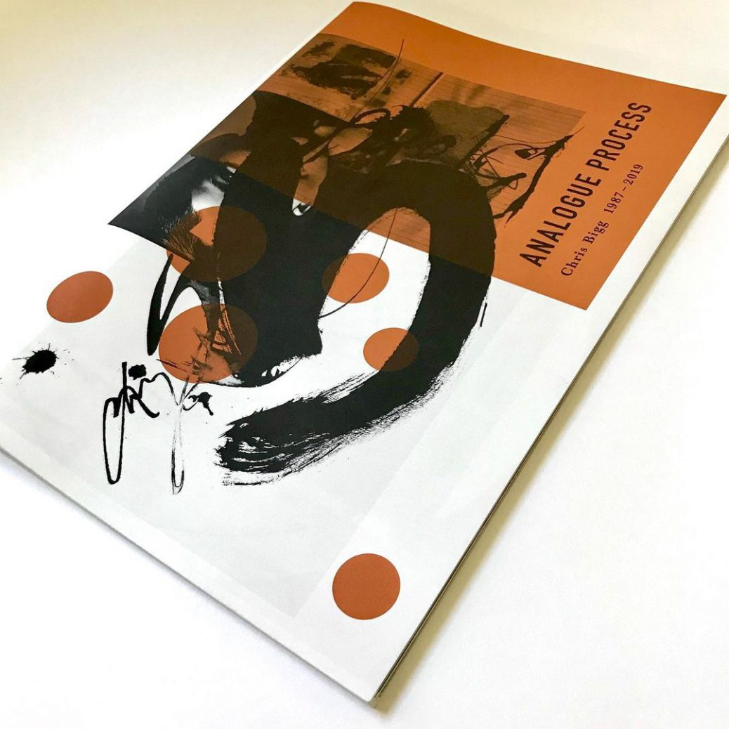Unseen Sketchbooks Analogue Process Chris Bigg cover